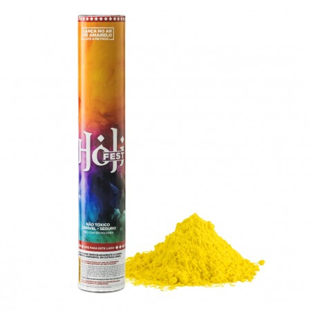 Holi Tubo amarelo